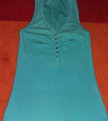 Victoria moda kék top