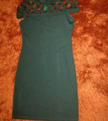 Zöld S-es ruha