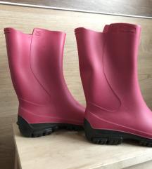 Lányka Decathlon rózsaszín gumicsizma