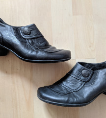 Medicus fekete bőrcipő,  bokacsizma 37,5
