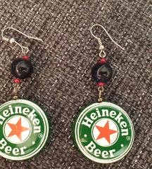 Heineken fülbevaló