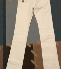 Mayo Chix fehér bársony nadrág