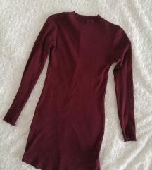 Bordó ruha SINSAY