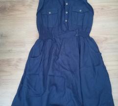 Clockhouse nyári kék ruha