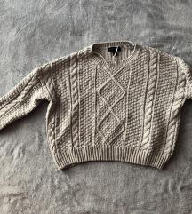 Szürke Primark-os pulóver