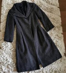 Zara gyapjú kabát XS S