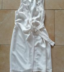 H&M fehér mellény ruha 34