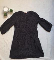 Eladó sötétszürke gombos ruha