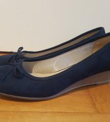 Graceland magasított talpú sötétkék cipő új 42