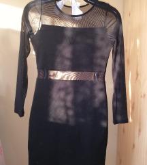 H&m Neccbetétes bodycon ruha