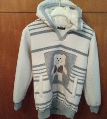Tört Fehér / szürke mintás pulcsi