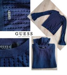 GUESS sötékék pulóver