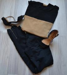Fekete hosszúnadrág