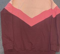 3 színű rózsaszín pulóver L