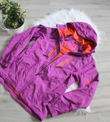 ÚJ Outdoor női kabát széldzseki túra kabát S M