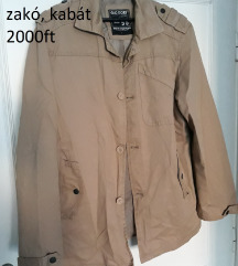 férfi kabát barna