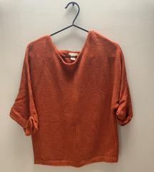 Rozsdaszínű pulover (xs)