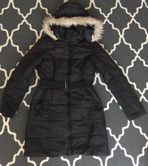 Pimkie vékonyabb fekete téli kabát (S)
