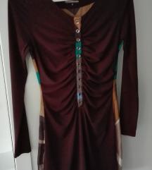 Magenta őszi ruha