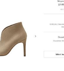 ÚJ Mango, valódi bőr cipő 36-os