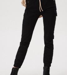 ÚJ fekete cargo nadrág