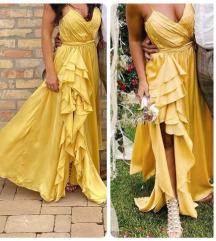 Alkalmi ruha - sárga