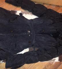 A vonalú téli kabát