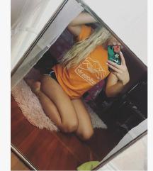 Adidas Narancs polo