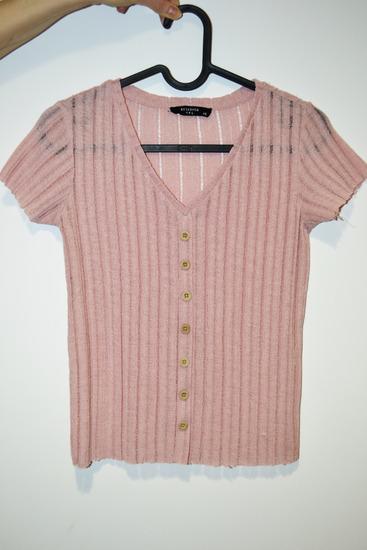 RESERVED - rózsaszín crop top