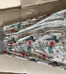My77 hosszú nyári virágos szoknya