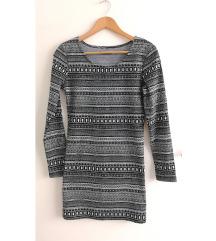 Mintás őszi-téli ruha