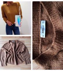 Zara barna pulóver