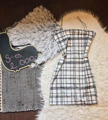 Missguided mini ruha  |  XS-S