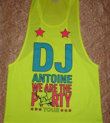 ÚJ - Ibisa DJ felső neonsárga - oversize