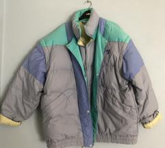 színes téli kabát