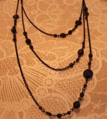 Fekete köves nyaklánc