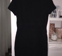 Fekete cipzáros ruha