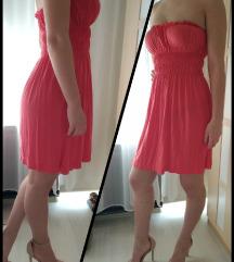 LEÁRAZVA! Lazac színű nyári strand ruha