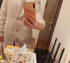 NEW LOOK UK_ púder rózsaszín kabát