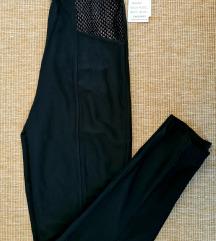 Fekete magasderekú nadrág