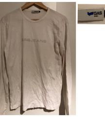 Gas M-es férfi fehér póló