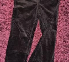 fekete kordbársony nadrág H&M