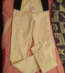 Új X Factory bőr hatású magas derekú nadrág