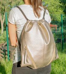 Bronz backpack / válltáska