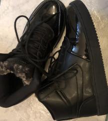 Nike bakancs fekete lakk