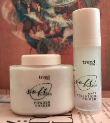 Trend it up soft almonds primer + púder, új!