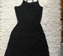 H&M basic fekete ruha S