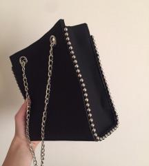 Zara -hoz hasonló  táska ÚJ fekete