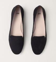 H&M fekete balerina cipő Vadonatúj