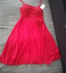 Piros alkalmi ruha, menyecske ruha